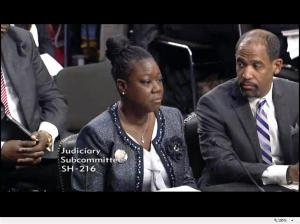 Sybrina Fulton testifies at Senate stand your ground hearing