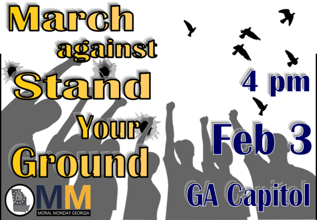 Georgia rally against stand your ground law